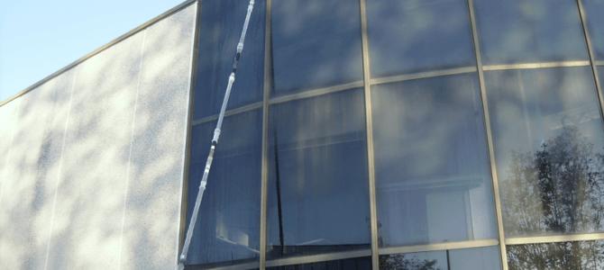 Top Clean con la última tecnología para limpieza en altura